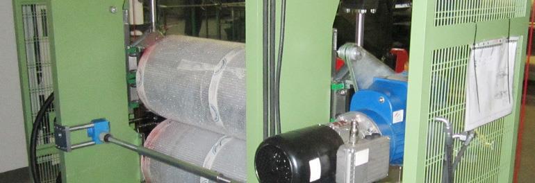 Calandras de PCM para productos laminados y/o adhesivados
